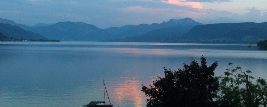 Attersee Abend Attersee