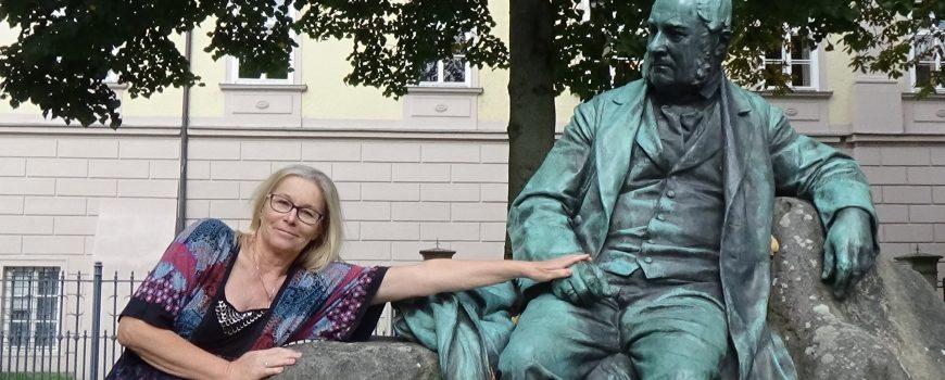 Liane Locker und Adalbert Stifter