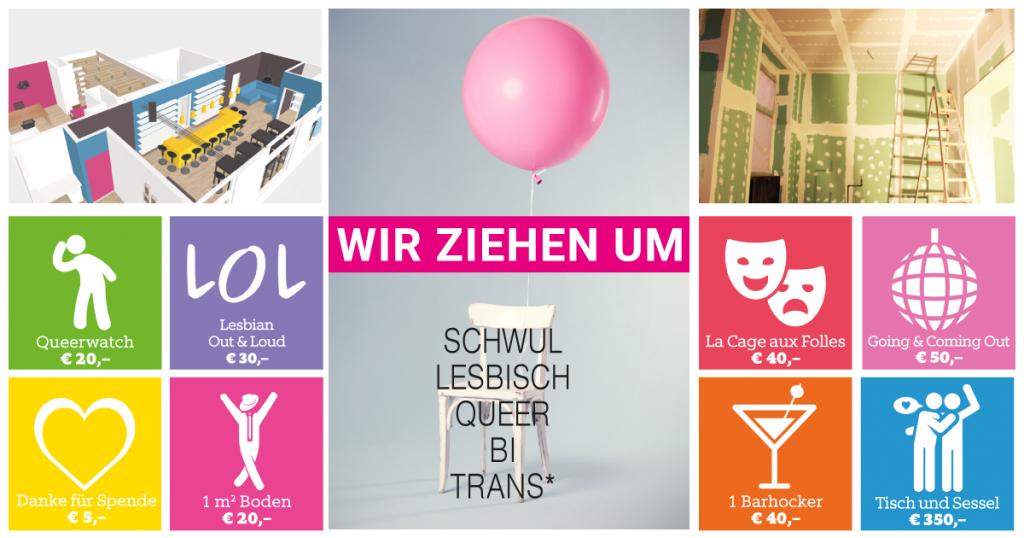 Crowdfunding HOSI Linz
