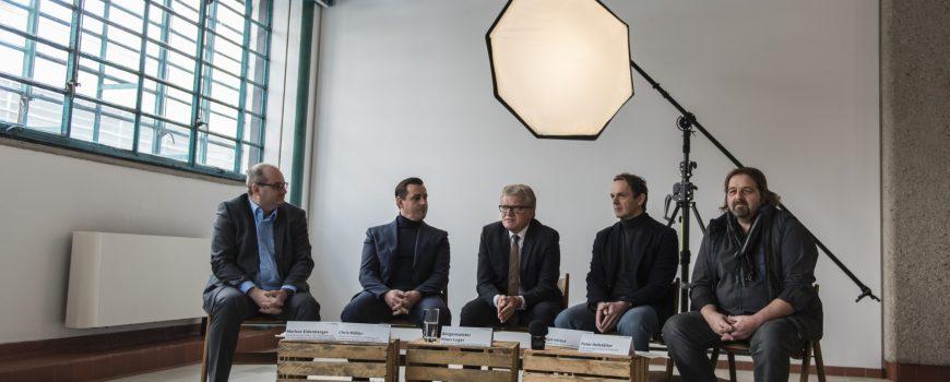 2018-02-27_Pressekonferenz_Tabakfabrik-PragerFotoschule_SabineKneidingerPhotography-1 Fotografin: Sabine Kneidinger