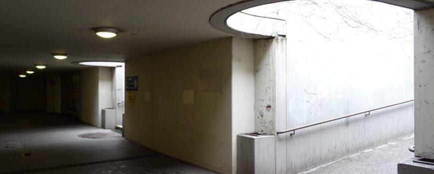 Unterführung Hnsenkampplatz Linz
