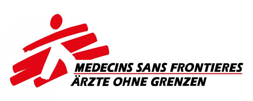 www.aerzte-ohne-grenzen.at Das Logo von Ärzte ohne Grenzen