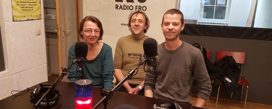 9.10.2018 Manuela Mittermayer, Erich Klinger und Ingo Leindecker - Foto Erich Tomandl