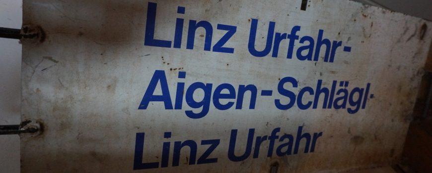 Metallenes Zuglaufschild_Archiv: ek
