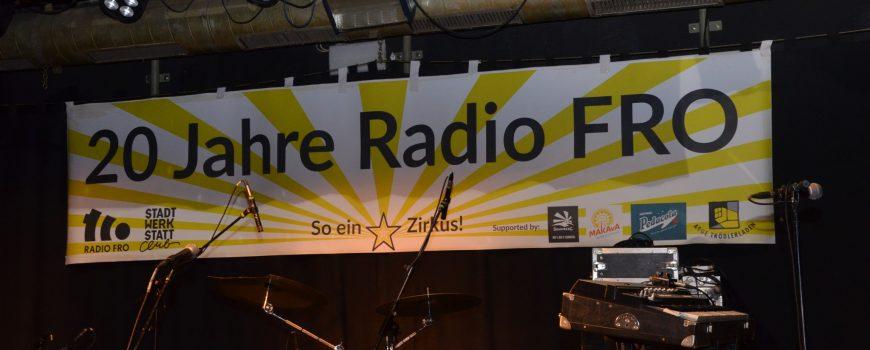 20 Jahre Radio FRO 20 Jahre Radio FRO