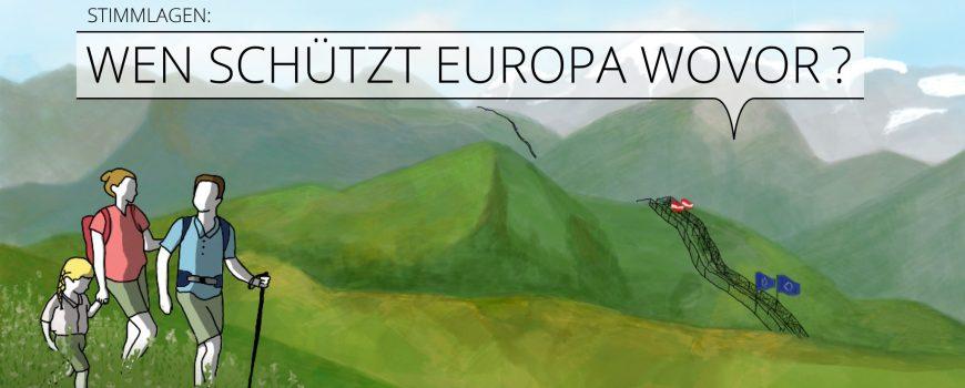 EU-Rat Schwerpunkt #Stimmlagen 2018  Grafik: Juliana Melzer