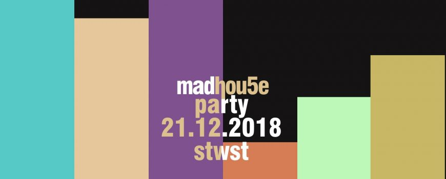 madhou5e party 2018 flyer