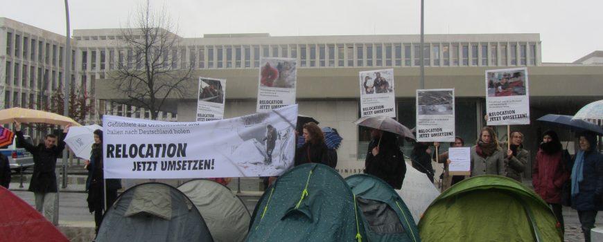 Proteste für Flüchtlinge aus Griechenland, © campact, flickr.com Proteste für Flüchtlinge aus Griechenland, © campact, flickr.com