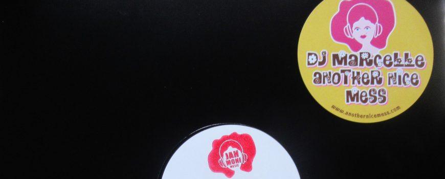 DJ Marcelle - hoes en label white label DJ Marcelle - Label and Sleeve