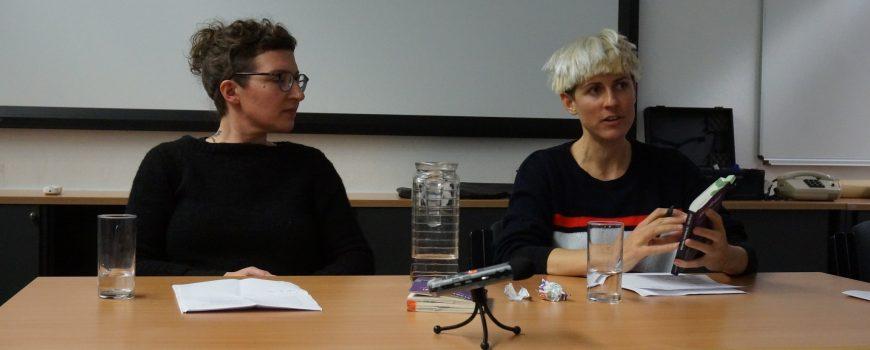 09.01.2019 - Heidrun Aigner und Sarah Kumnig - Foto: Erich Klinger