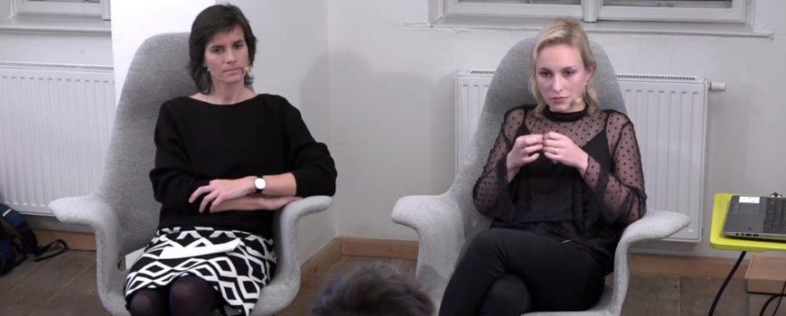 Barbara Krennmayr und Hanna Herbst - Fotostill: dorfTV