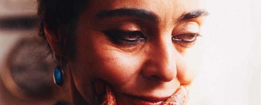 Portrait Shirin Neshat Paul-Albert Leitner NY, 2000