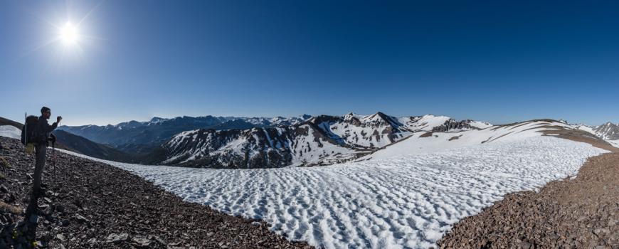 Stefans 1 Verschneiter Sattel im Hochgebirge