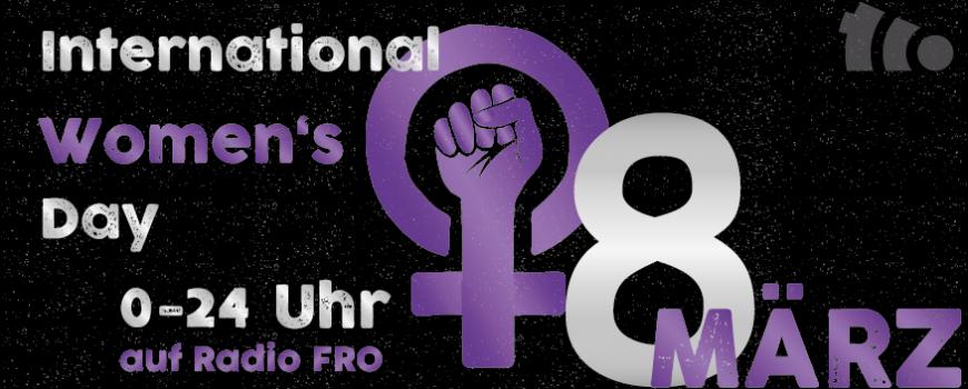 Weltfrauentag am Sonntag 8. März 2020 - ein Feiertag!