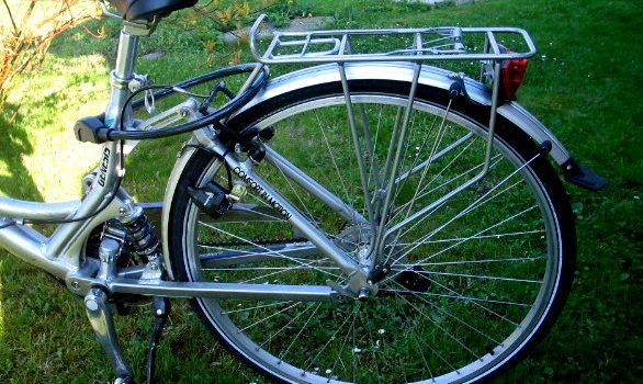 Fahrrad halb