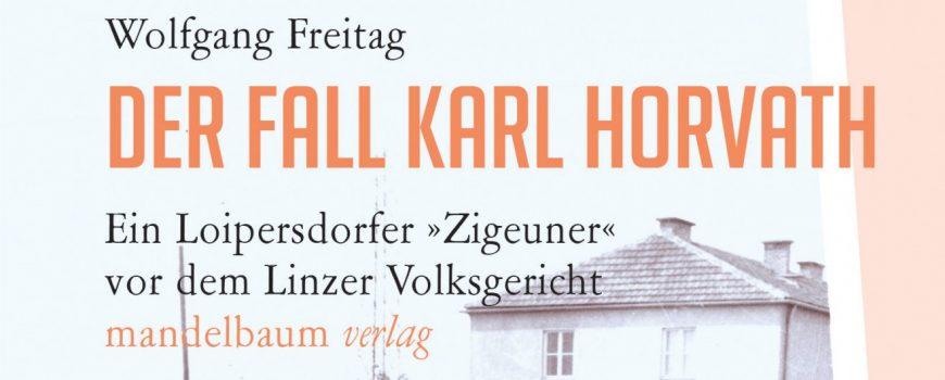 Karl Horvath Buchcover Der Fall Karl Horvath