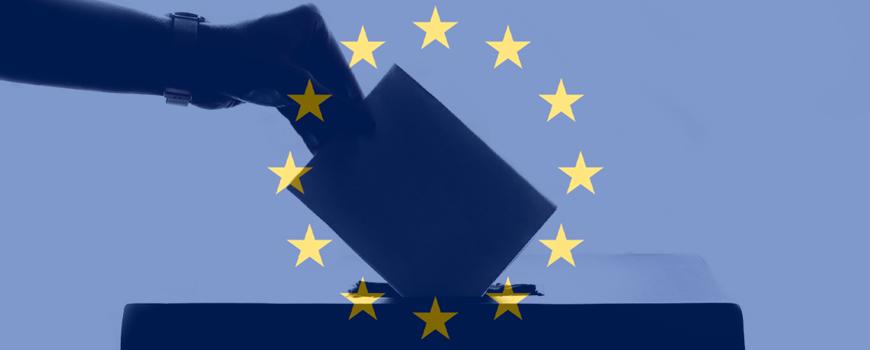 EU-Wahl FROzine EU-Wahl-Schwerpunkt im FROzine. Bildkomposition: Tina Weinberger