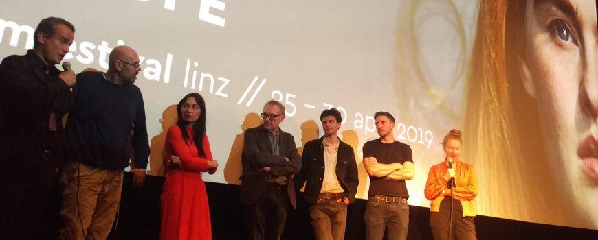 Nevrland_Filmcrew_Niederleuthner Filmcrew von Nevrland beim Crossing Europe Filmgespräch im Moviemento