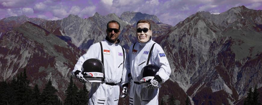 """Kurt Razelli """"Lost in Space"""" Pressebild"""