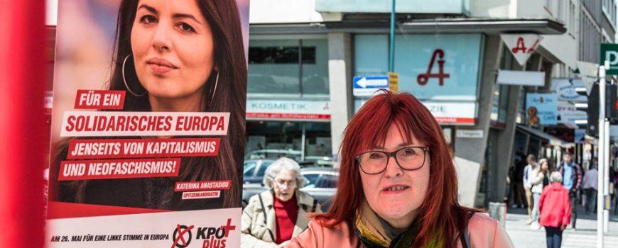 Katerina Anastasiou und Gerlinde Grünn