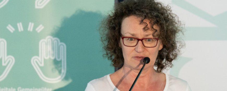 Open Commons Kongress: Ingrid Mairhuber Fotocredit: Petra Moser