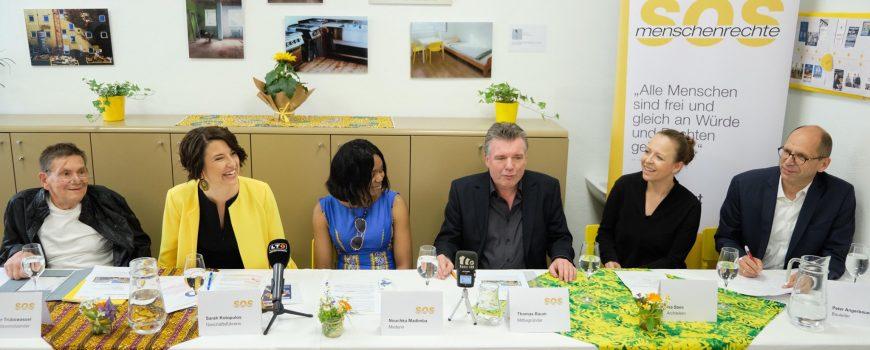 SOS_Menschenrechte_PK_Pixelkinder SOS Menschenrechte Pressekonferenz Hauseröffnung