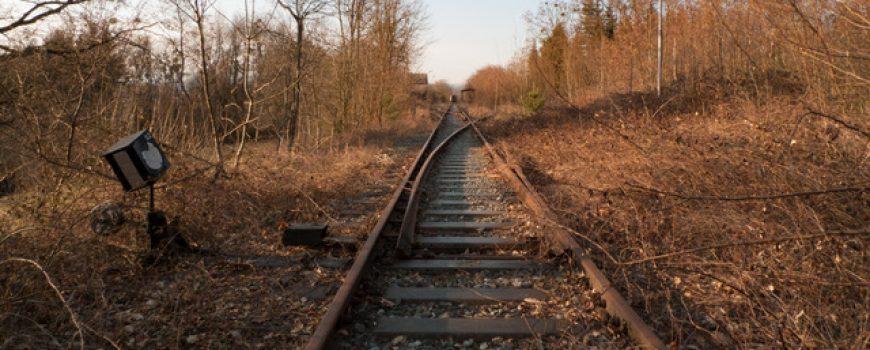 Aufgelassene Bahnstrecke Oberwart - Oberschützen