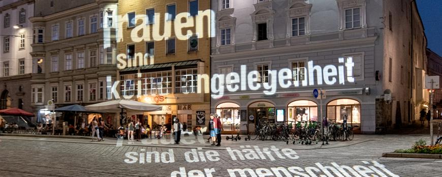 _VIO5625 Projektionen und Textinterventionen von der aktuellen Gabriele Heidecker Preisträger*in starsky