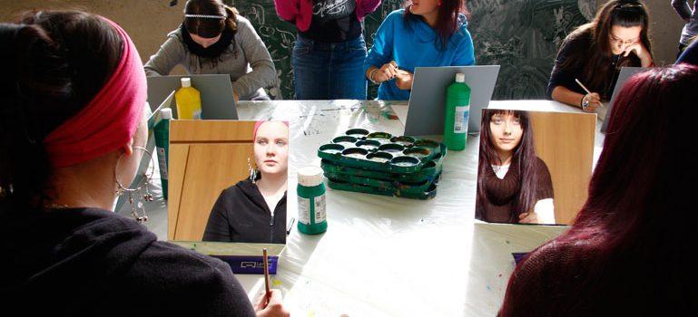 Workshop: zeig mir dein Gesicht. Lentos Kunstmuseum Linz