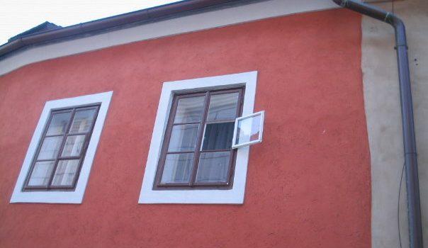 HausObergeschoß rot Botschaft vom roten Haus