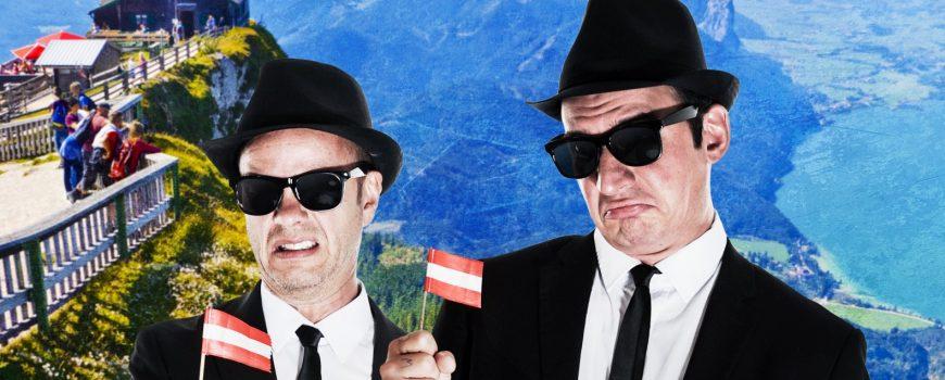 Die Rückkerh der Blues Brothers Sujet von Stefan Eibelwimmer