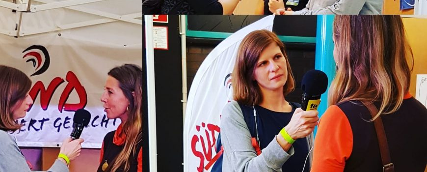 Wear Fair + mehr 2019 Michaela Kramesch und Karina Schaumberger führen Interviews bei der Wear Fair