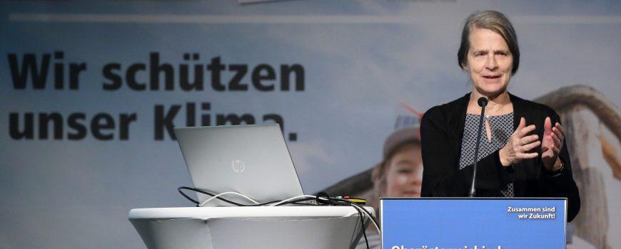 Helga Kromp-Kolb beim OÖ Klimagipfel Quelle: Land Oberösterreich