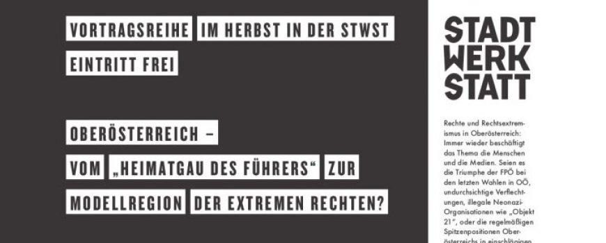 Vortragsreihe STWST