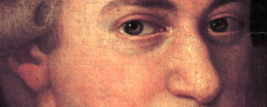 Croce-Mozart-Detail Portrait von W. A. Mozart