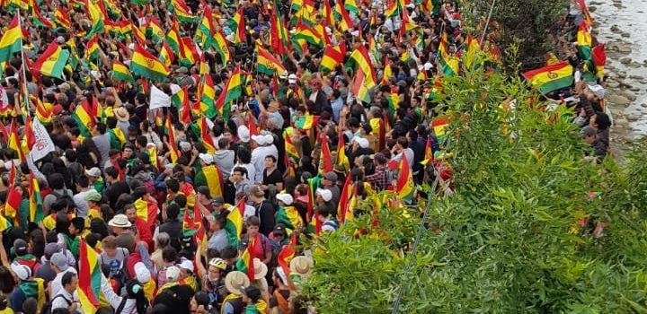 La Paz-20191028 Bolivia lucha por la democracia