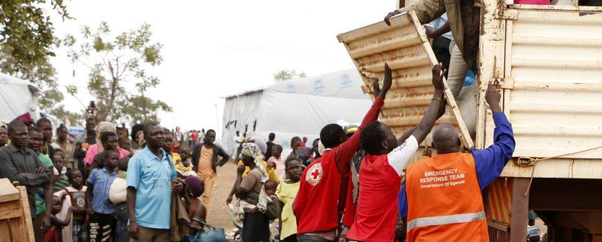 Refugee Camp Bidi Bidi Bidi Bidi in Unganda © Climate Centre