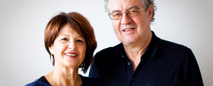 Gerlinde und Werner Rohrhofer zentral