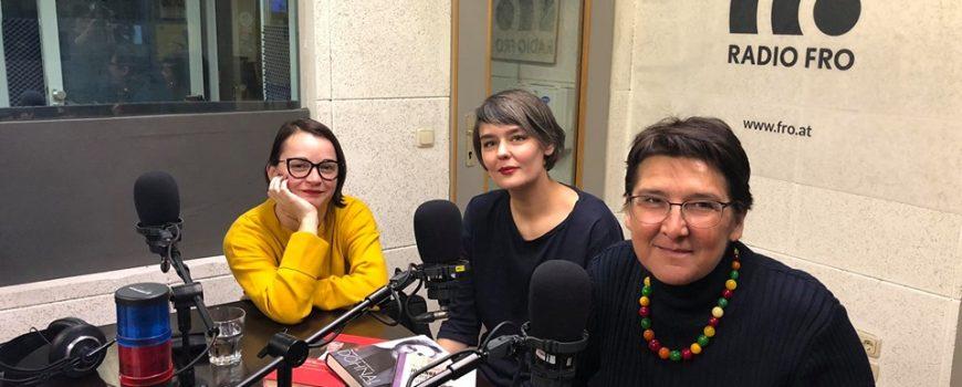 von links: julia pühringer oona valarie serbest und sonja ablinger