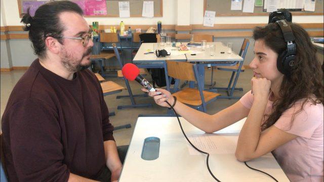 Radioworkshop - Interview für die Sendung