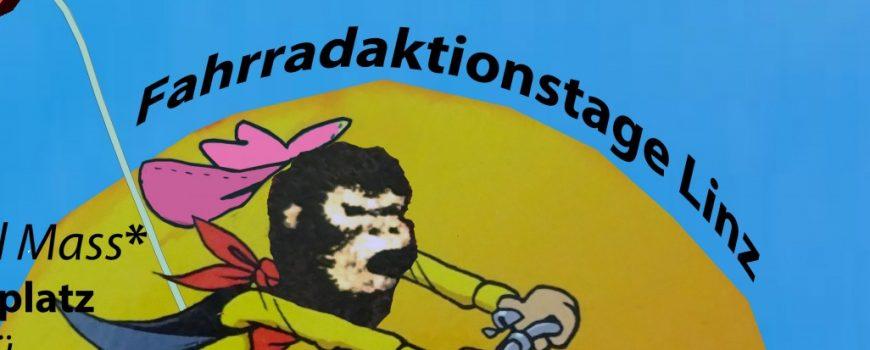 Ciemmona goes Linz Plakat ein loses Kollektiv von Radfaher*innen aus Linz