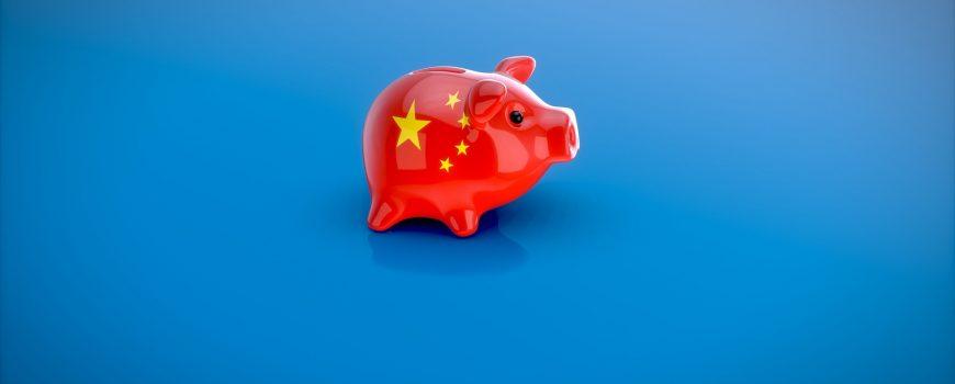 chinesisches Sparschwein China in Afrika