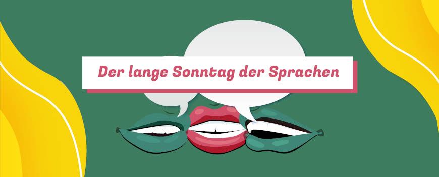 Langer Sonntag der Sprachen 2020