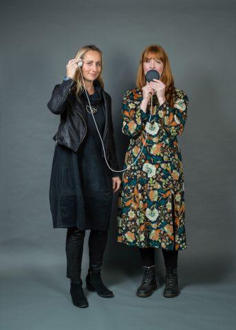 Birgitte Aga and Coral Manton