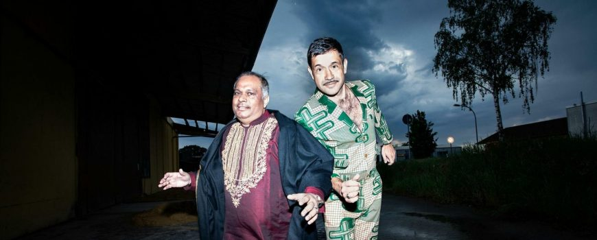 sufidubbrothers Ashraf Sharif Khan und Viktor Marek