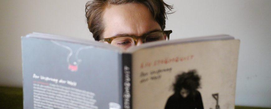 beim lesen was erleben