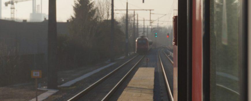 DSC08266 Zugkreuzung Steyregg 2.3.2021
