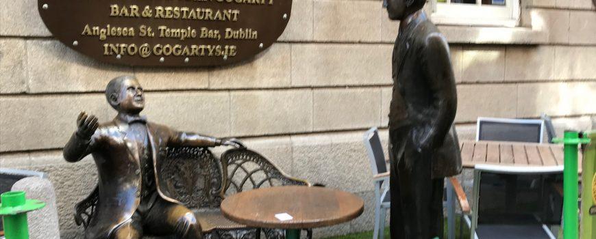 Freiluft-Café Dublin