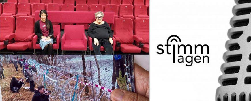 stimmlagen_blimlinger_wire Eva Blimlinger, Bild: Marina Wetzlmaier; The Wire, Foto: Off World.