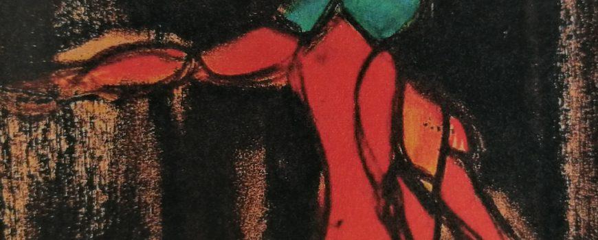y la oscuridad de una pintura de Christine Schadenhofer